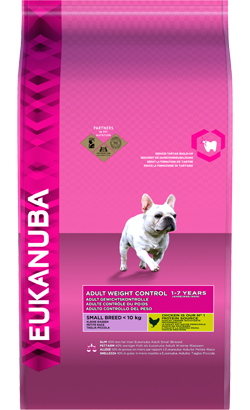 Eukanuba Adult Weight Control Small Breed | Chicken 3 Kg