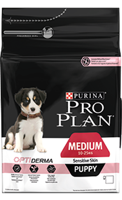 Pro Plan Dog Medium Puppy Sensitive Skin 3 Kg