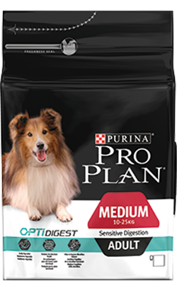 Pro Plan Dog Medium Adult Sensitive Digestion 3 Kg