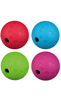 Trixie Toy Dog Activity snack Ball | O 6 cm - Colors Assorted 1 unity