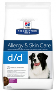 Hills Prescription Diet d/d Canine Duck & Rice 2 kg