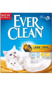 Areia Auto Aglomerante Ever Clean Less Trail 10 Litros
