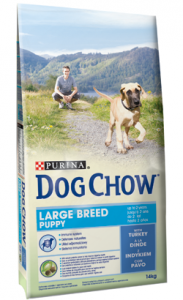 Dog Chow Puppy Large Breed | Turkey 14 kg