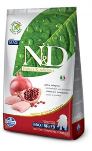 N&D Dog Maxi Puppy Chicken & Pomegranate - Grain Free 12 kg