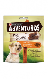Adventuros Mini Sticks Buffalo Flavour 2 X 90 g