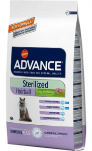 Advance Cat Sterilized Hairball | Turkey & Barley 10 kg