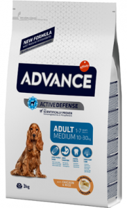 Advance Dog Medium Adult | Chicken & Rice 3 Kg