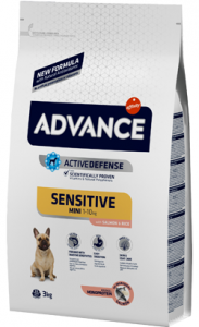 Advance Dog Mini Sensitive Salmon & Rice 3 kg