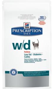 Hills Prescription Diet w/d Feline Chicken 1,5 kg